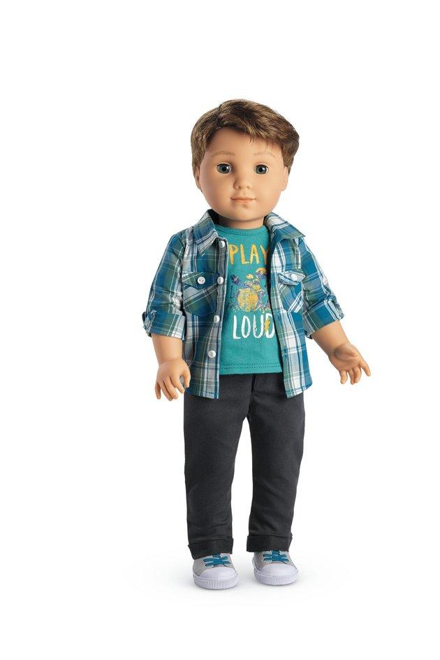 American Girl Doll - Boy Doll Logan