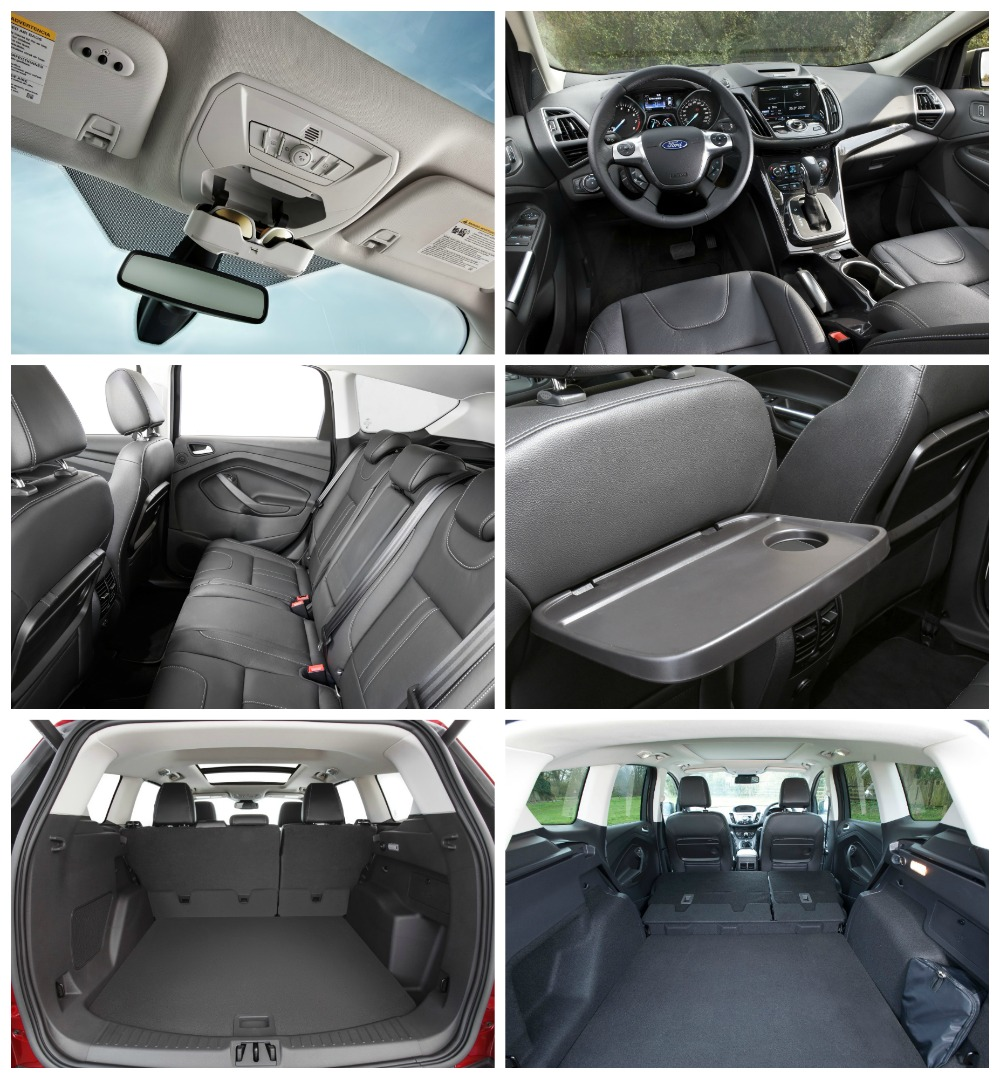 Ford Escape Interior Food Tray
