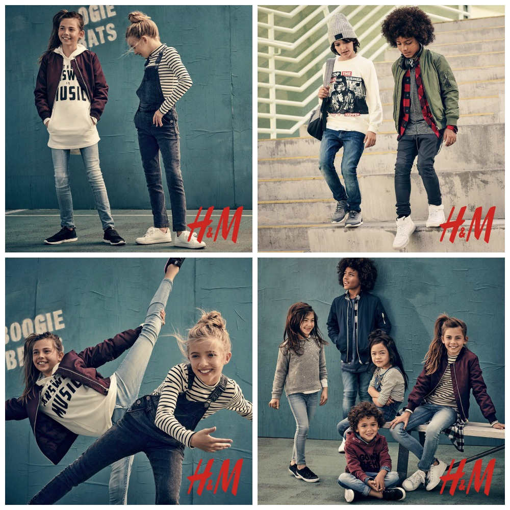 h and m clothes for tweens