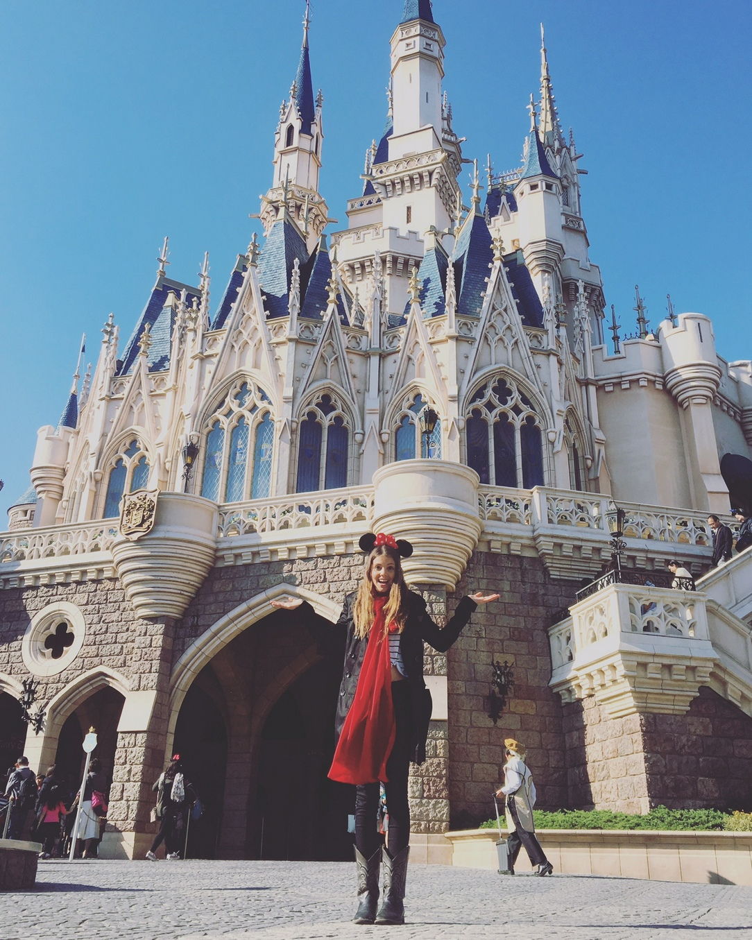 Disney Castle - Tokyo
