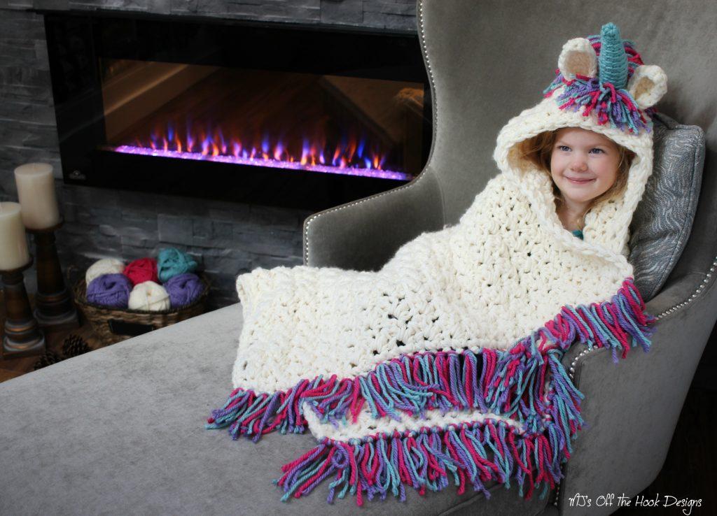 Unicorn-Blanket